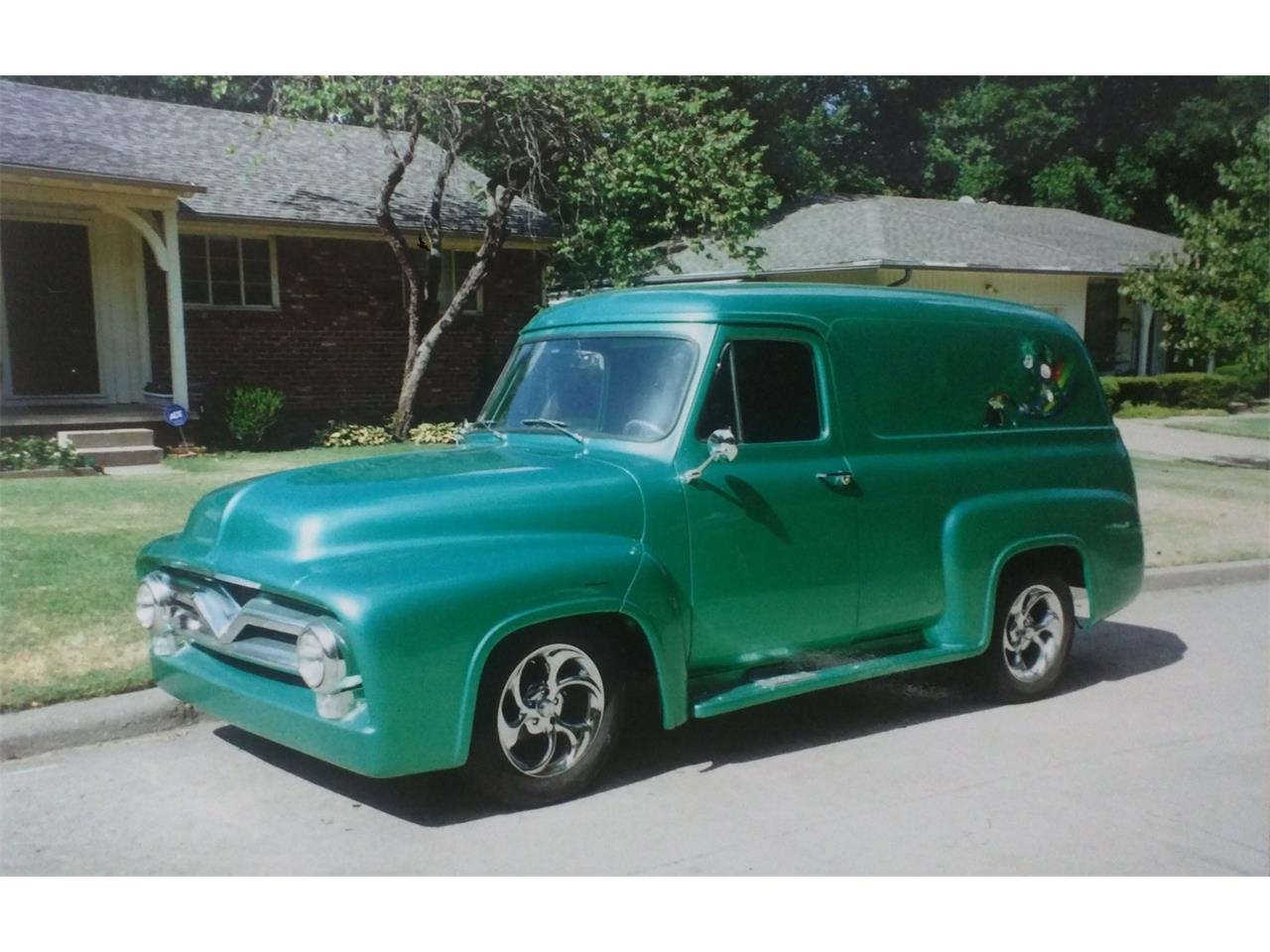 1955 Ford F100 For Sale Cc 966406 Panel Truck Large Picture Of 55 Kpom