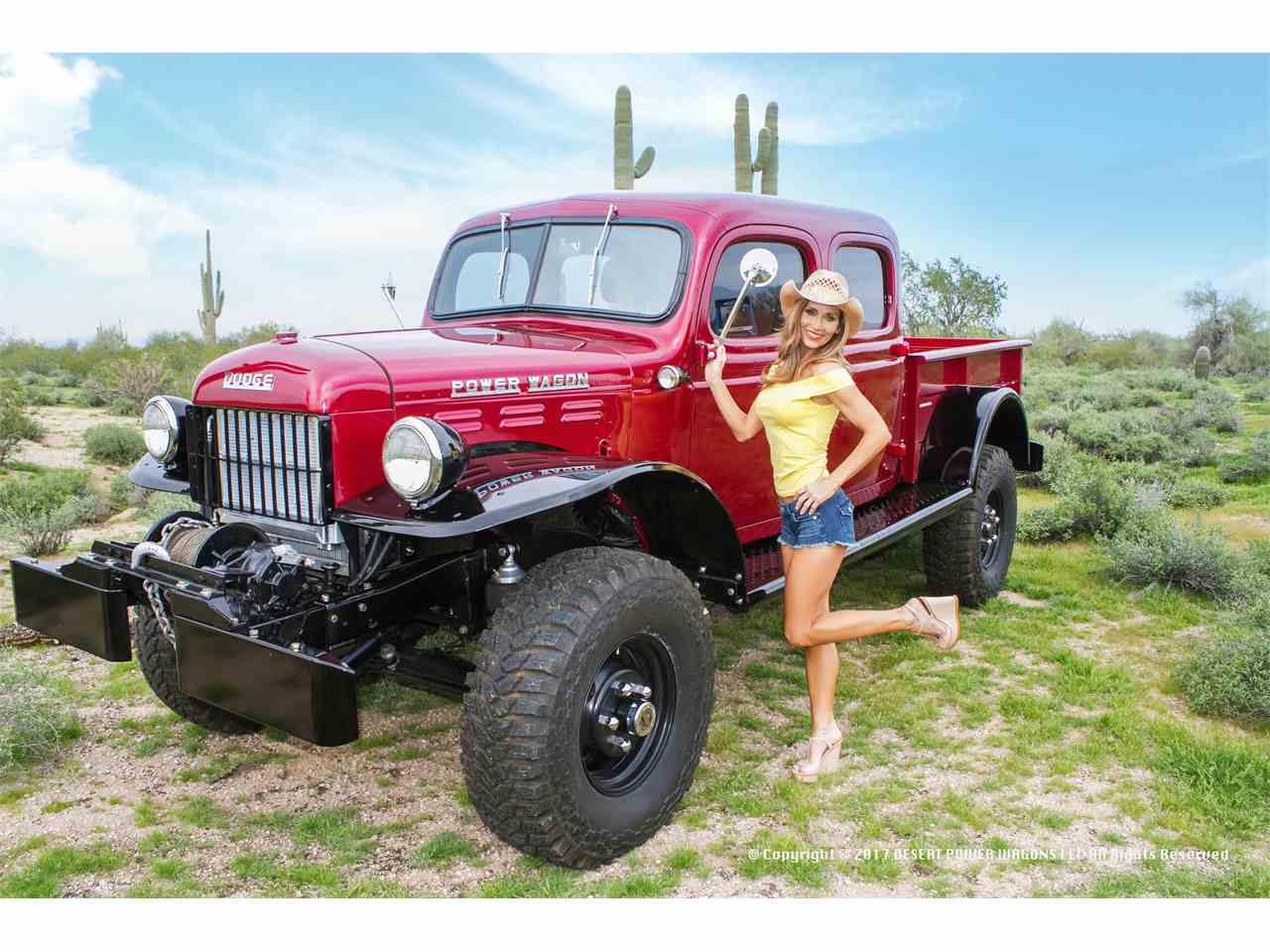 1955 dodge power wagon for sale cc 966676 for Motorized wagon for sale