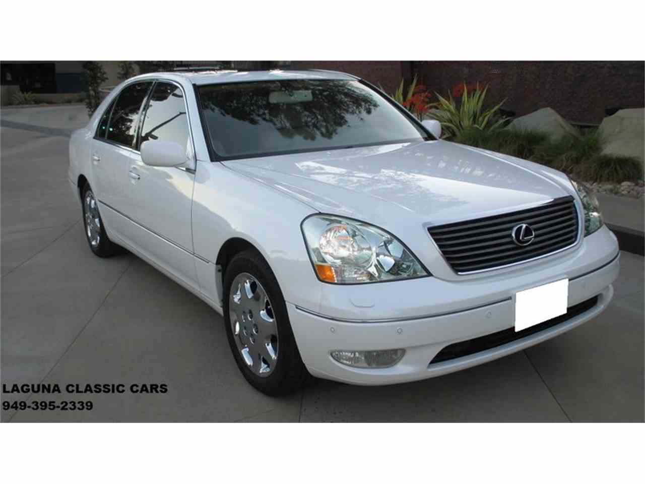2002 Lexus LS430 ULTRA LUXURY PACKAGE for Sale | ClassicCars.com ...