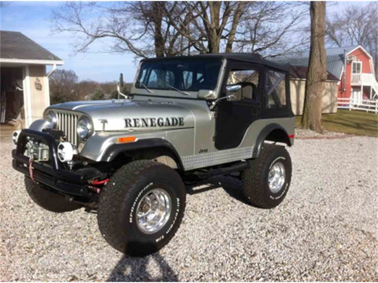 1975 jeep wrangler for sale cc 967154. Black Bedroom Furniture Sets. Home Design Ideas