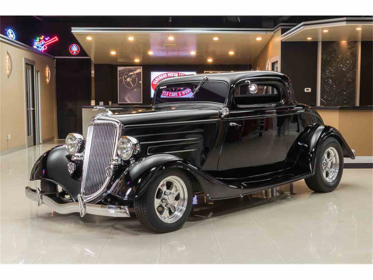 1934 Ford 3-Window Coupe Street Rod for Sale | ClassicCars.com | CC ...