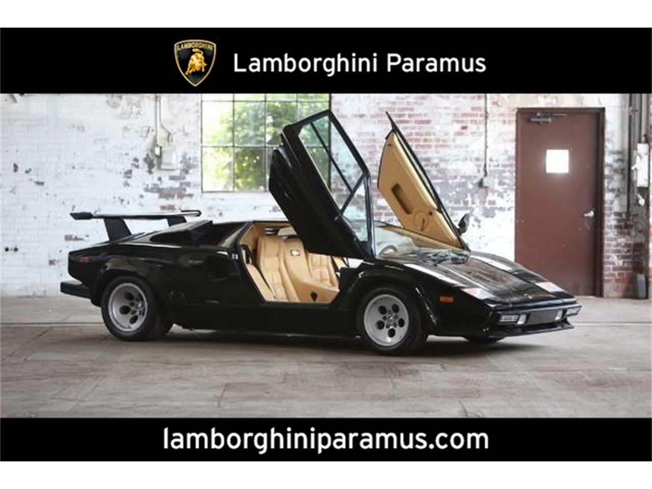 1987 Lamborghini Countach For Sale Classiccars Com Cc 968136