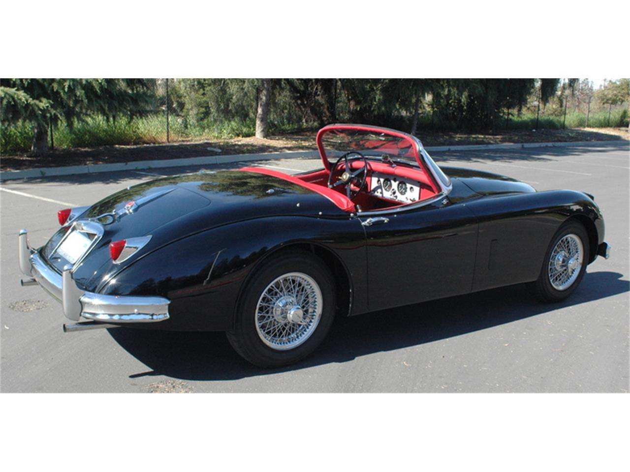 Large Picture of Classic 1958 XK150 located in Campbell California - KR1G