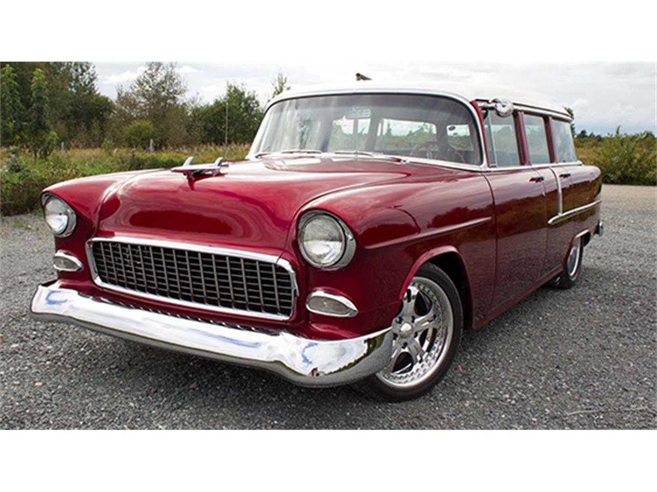 1955 chevrolet 210 four door restomod wagon for sale cc 968464. Black Bedroom Furniture Sets. Home Design Ideas