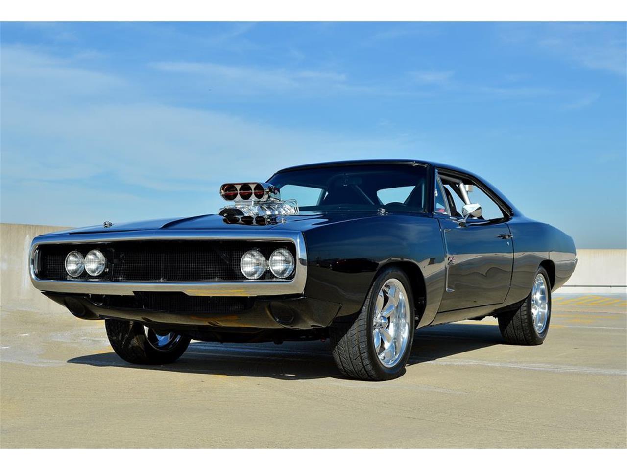 1968 dodge charger fast n furious movie car for sale cc 968915. Black Bedroom Furniture Sets. Home Design Ideas