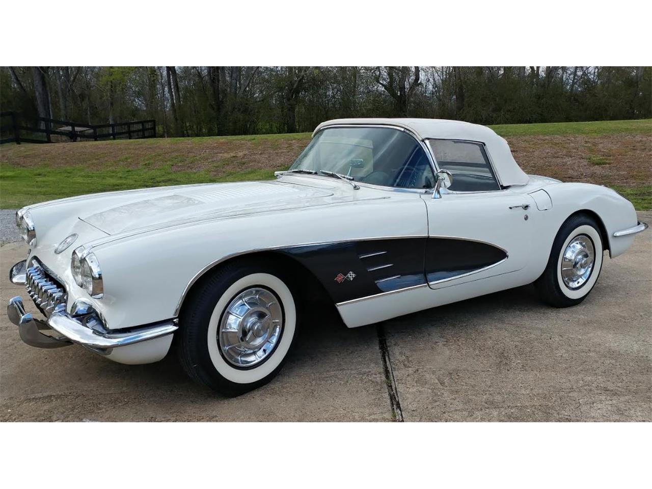 1958 Corvette Wiring Diagram Temp Posts Chevrolet For Sale Classiccars Com Cc 969423 1960