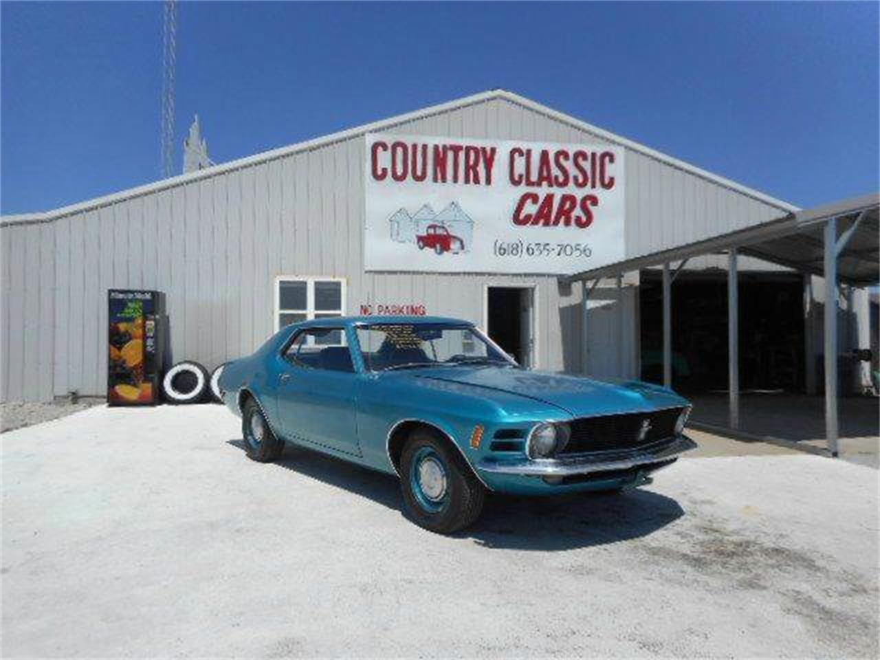 Large Picture of '70 Mustang - KS9T