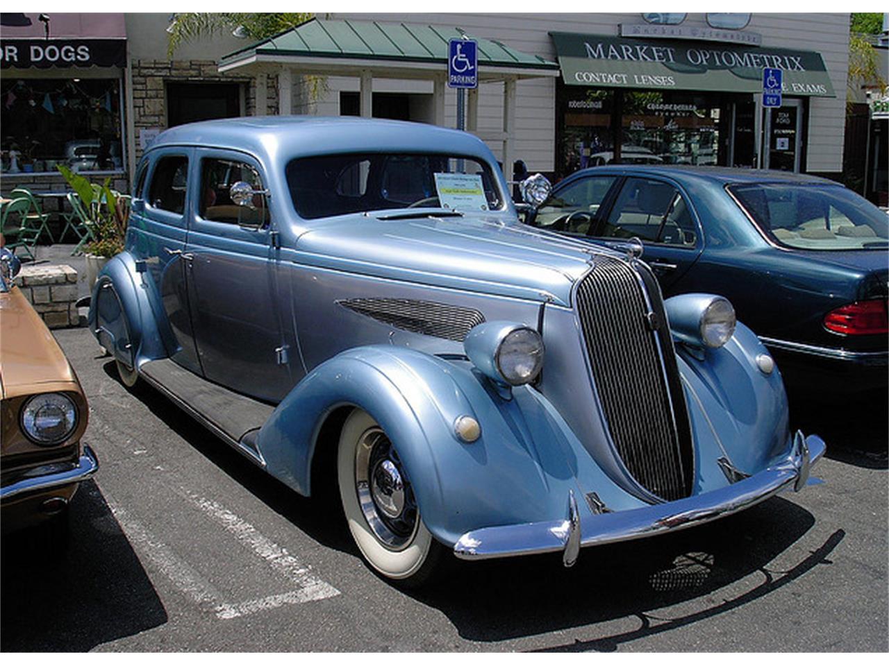 Classic Cars For Sale California Usa: 1936 Nash Ambassador For Sale