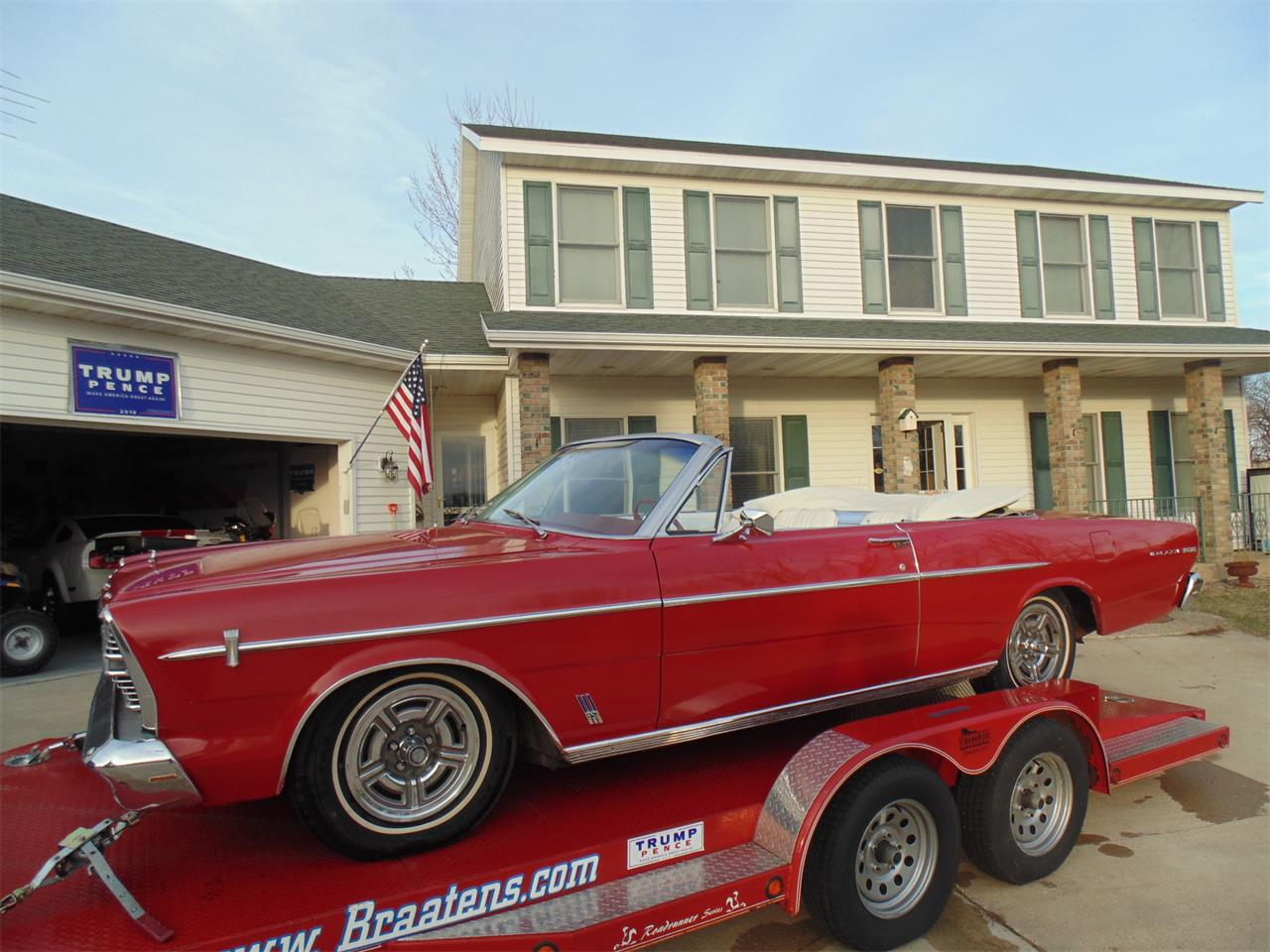 Large Picture of Classic 1966 Ford Galaxie 500 located in Minnesota Offered by Braaten's Auto Center - KTGB