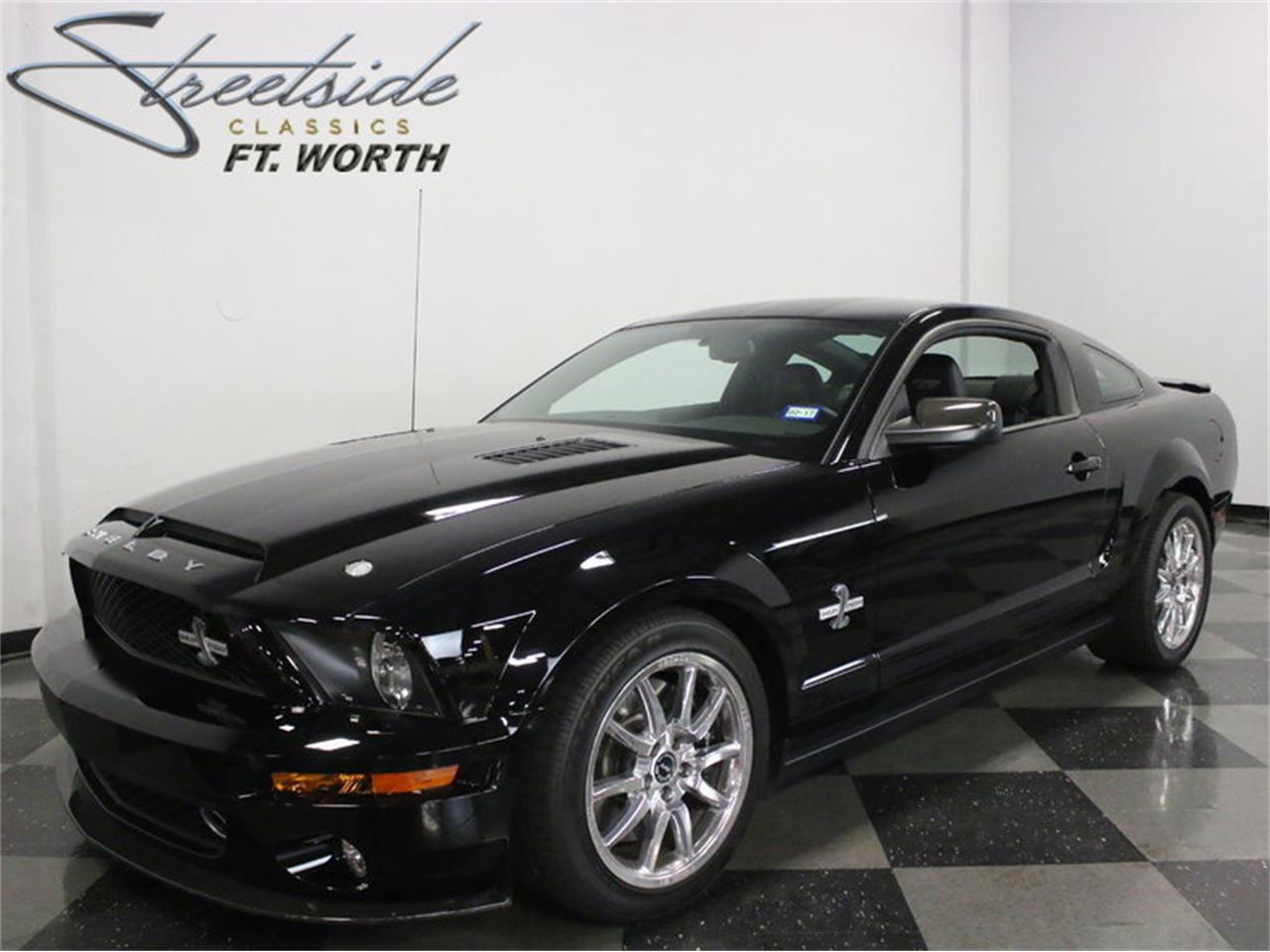 For sale 2009 ford mustang shelby gt500 kr in ft worth texas