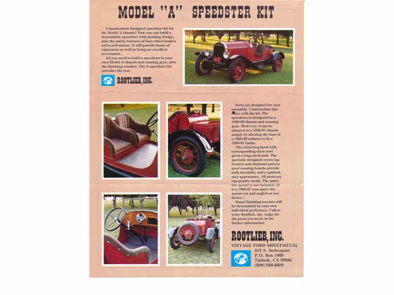 Large Picture of Classic '28 Ford  Model A Rootlieb Speedster - $24,000.00 Offered by a Private Seller - KTN4