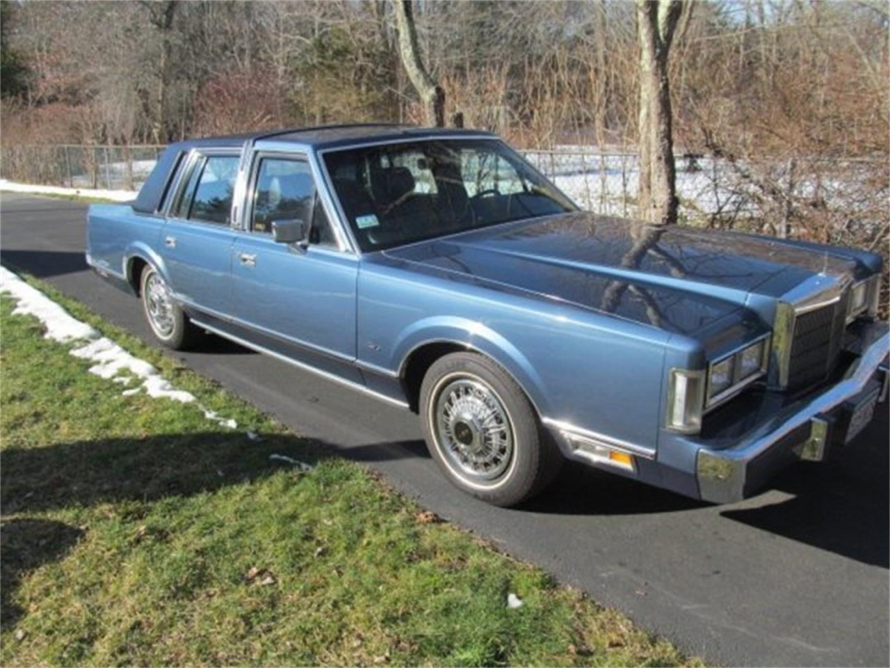 1988 Lincoln Premiere For Sale Classiccars Com Cc 971757