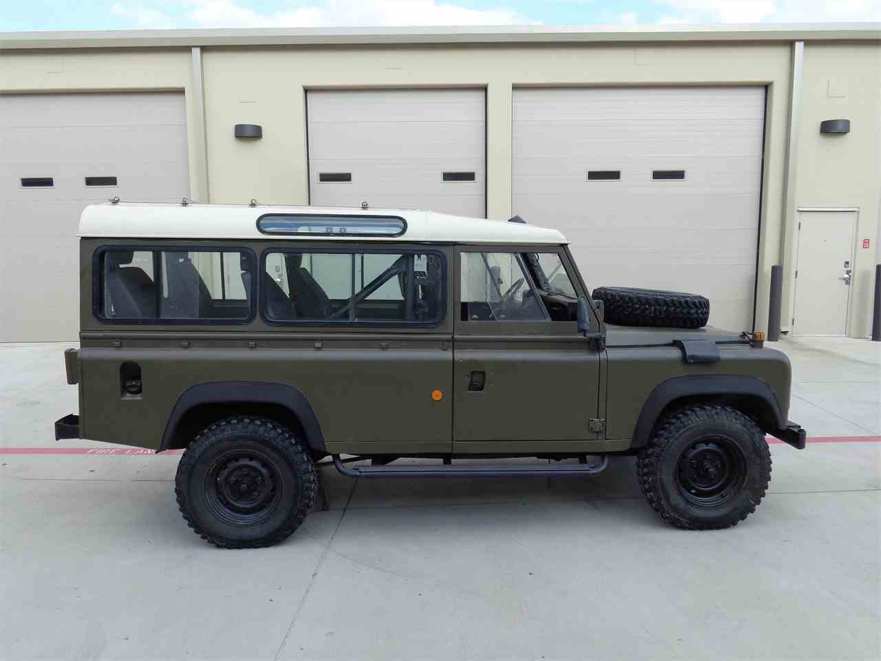 1989 land rover defender 110 military for sale. Black Bedroom Furniture Sets. Home Design Ideas