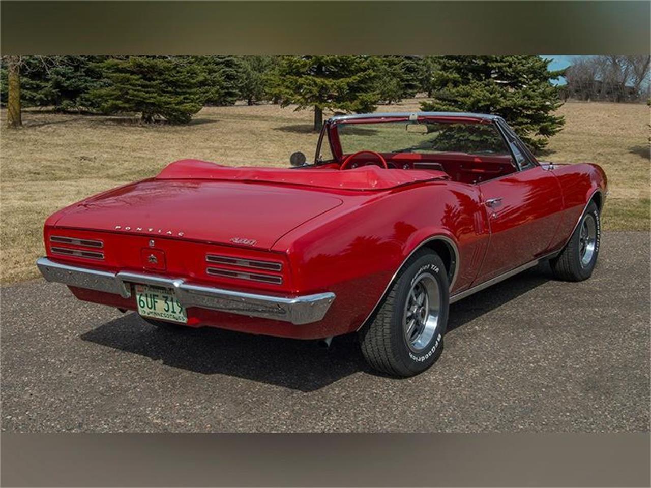 For Sale: 1967 Pontiac Firebird 400 Convertible in Rogers, Minnesota