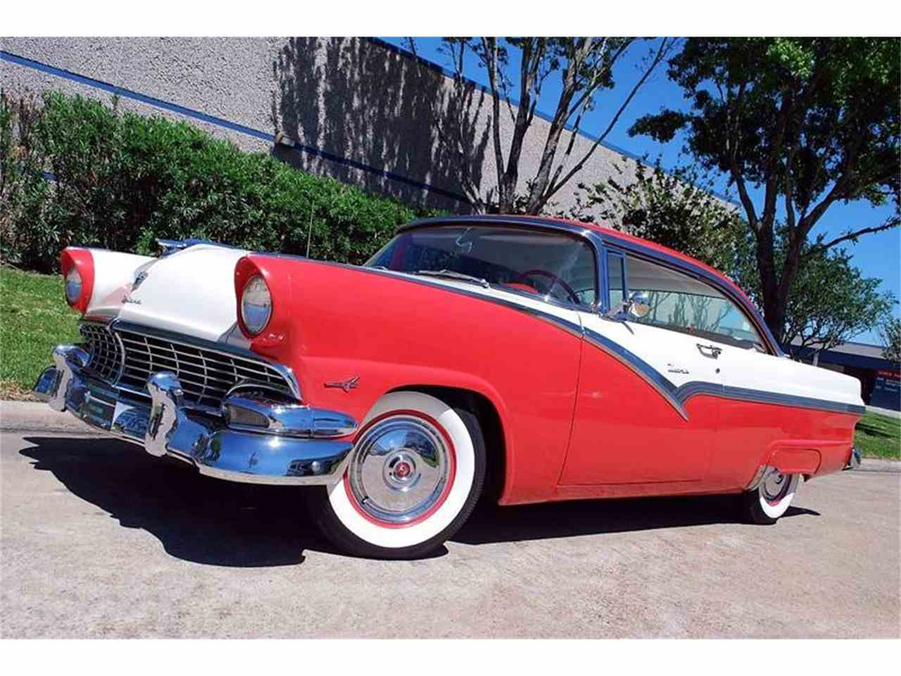 Classic Cars For Sale Houston Area: 1956 Ford Fairlane Victoria For Sale