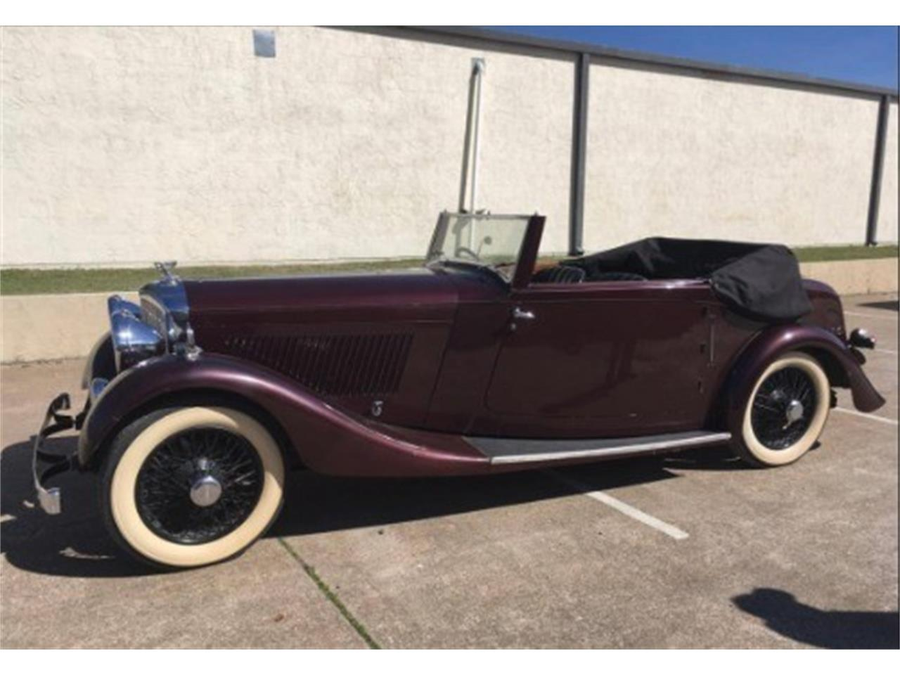 Large Picture of Classic 1934 Bentley 3-1/2 Litre located in Astoria New York - $165,000.00 - KUA3