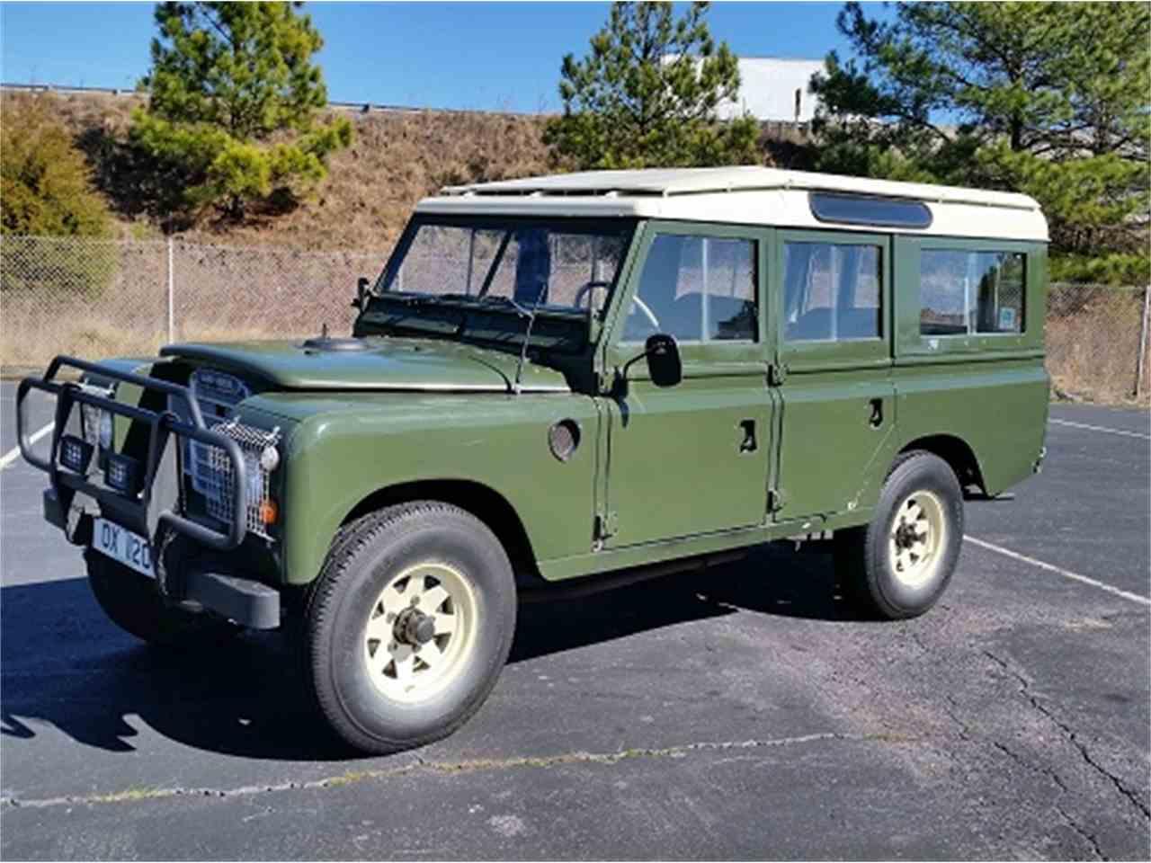 1971 Land Rover Defender for Sale | ClicCars.com | CC-972435