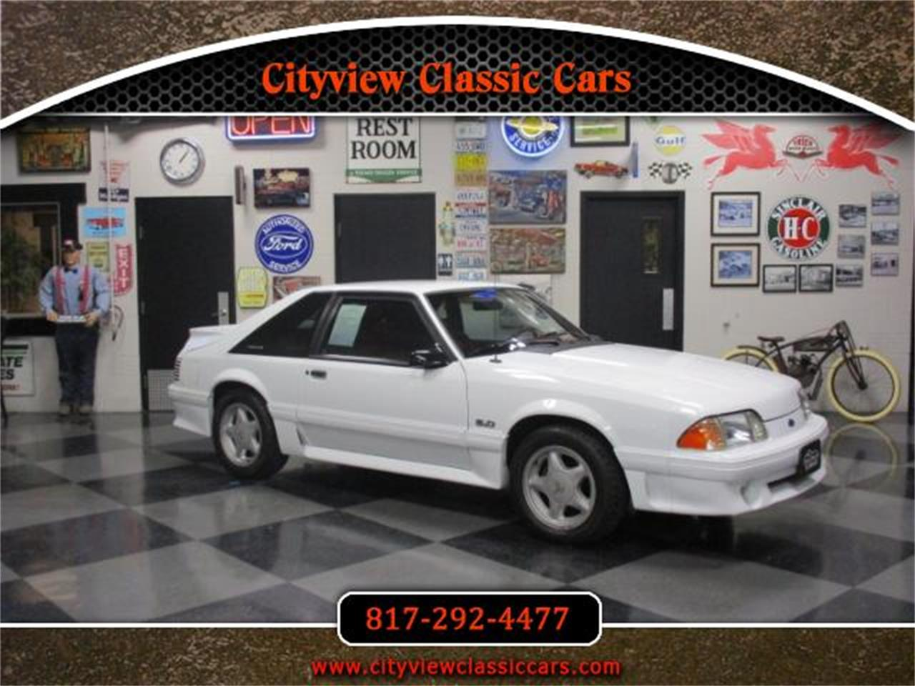 For sale 1992 ford mustang gt in fort worth texas