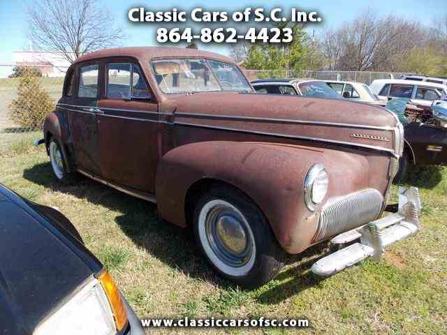 Picture of Classic '41 Studebaker Commander located in Gray Court South Carolina - KUU4
