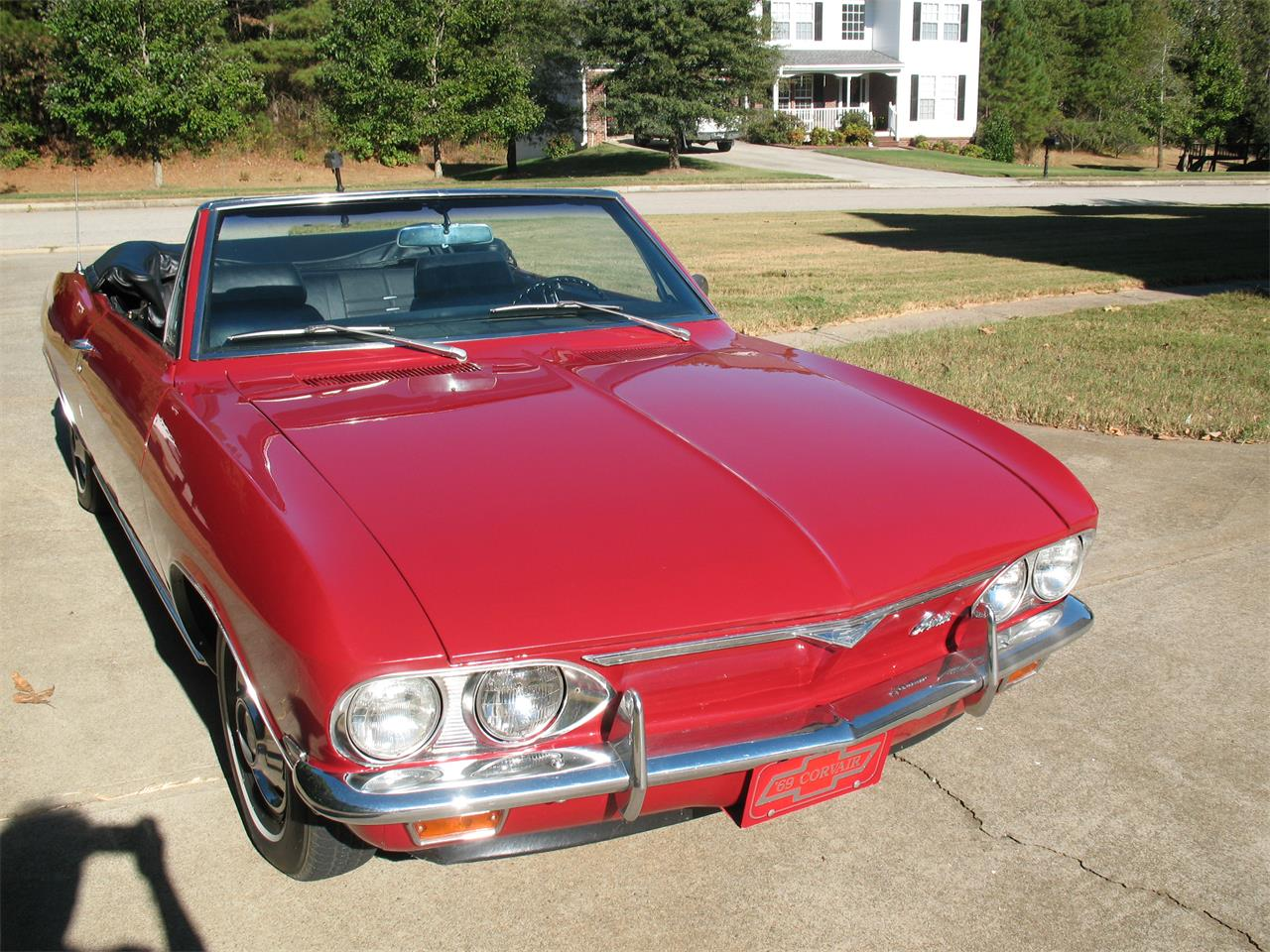 1969 chevrolet corvair monza for sale | classiccars | cc-973423