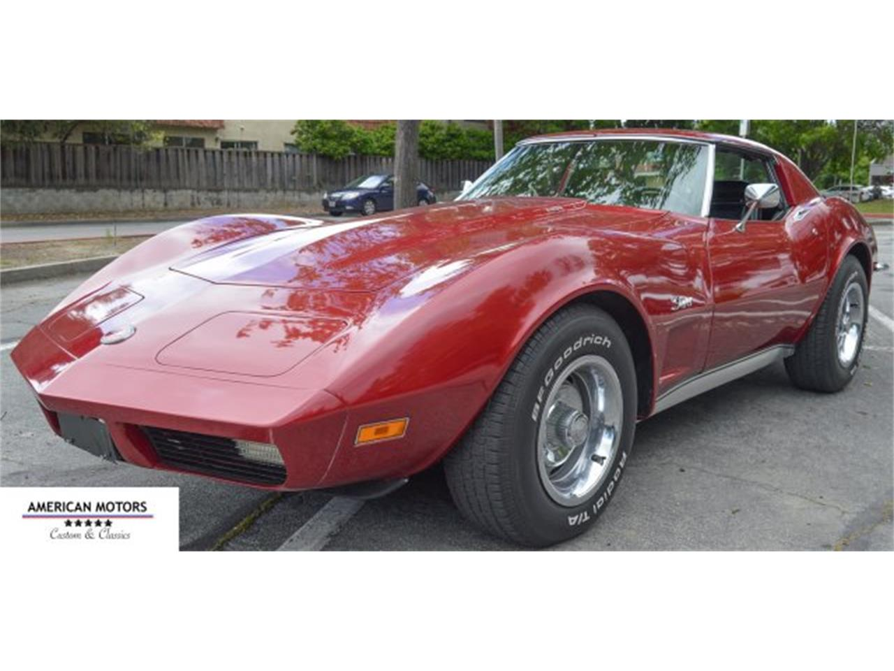 Large Picture of Classic '73 Corvette located in San Jose California Offered by American Motors Customs and Classics - KV9V