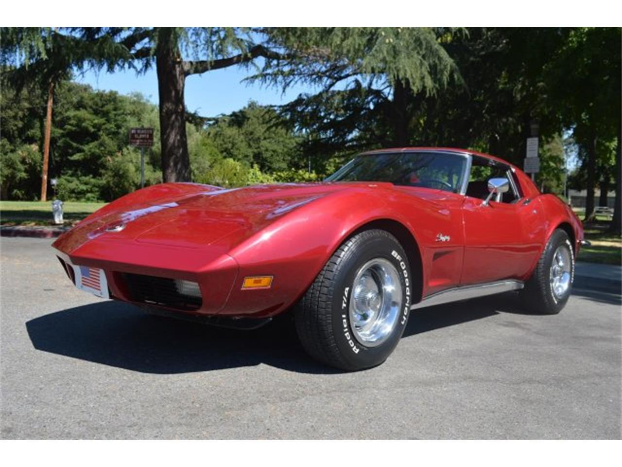 Large Picture of 1973 Chevrolet Corvette Offered by American Motors Customs and Classics - KV9V