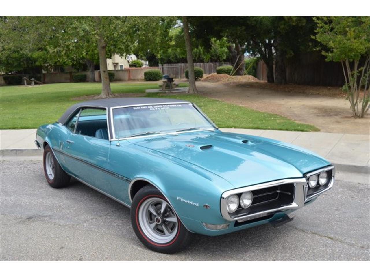 Large Picture of 1968 Pontiac Firebird Auction Vehicle Offered by American Motors Customs and Classics - KV9Z