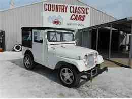 Picture of '54 Willys Jeep located in Staunton Illinois Offered by Country Classic Cars - KVAA