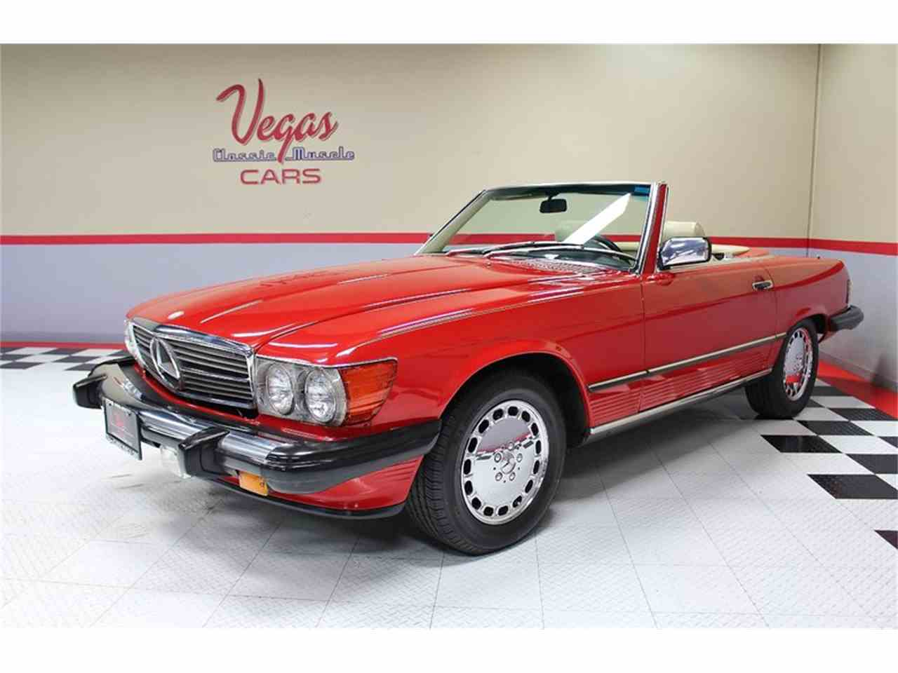 Large Picture of 1987 Mercedes-Benz 560SL located in Nevada Offered by Vegas Classic Muscle Cars - KVCP