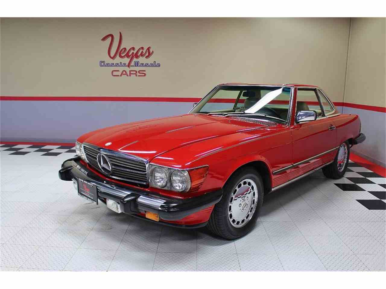 Large Picture of '87 Mercedes-Benz 560SL located in Henderson Nevada - KVCP