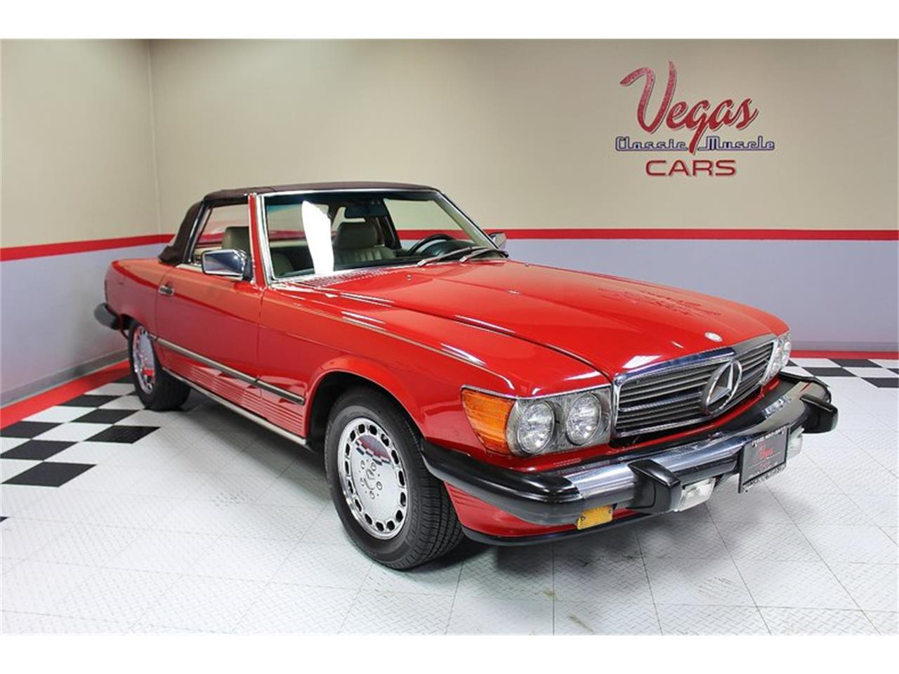 Large Picture of 1987 560SL located in Henderson Nevada Offered by Vegas Classic Muscle Cars - KVCP