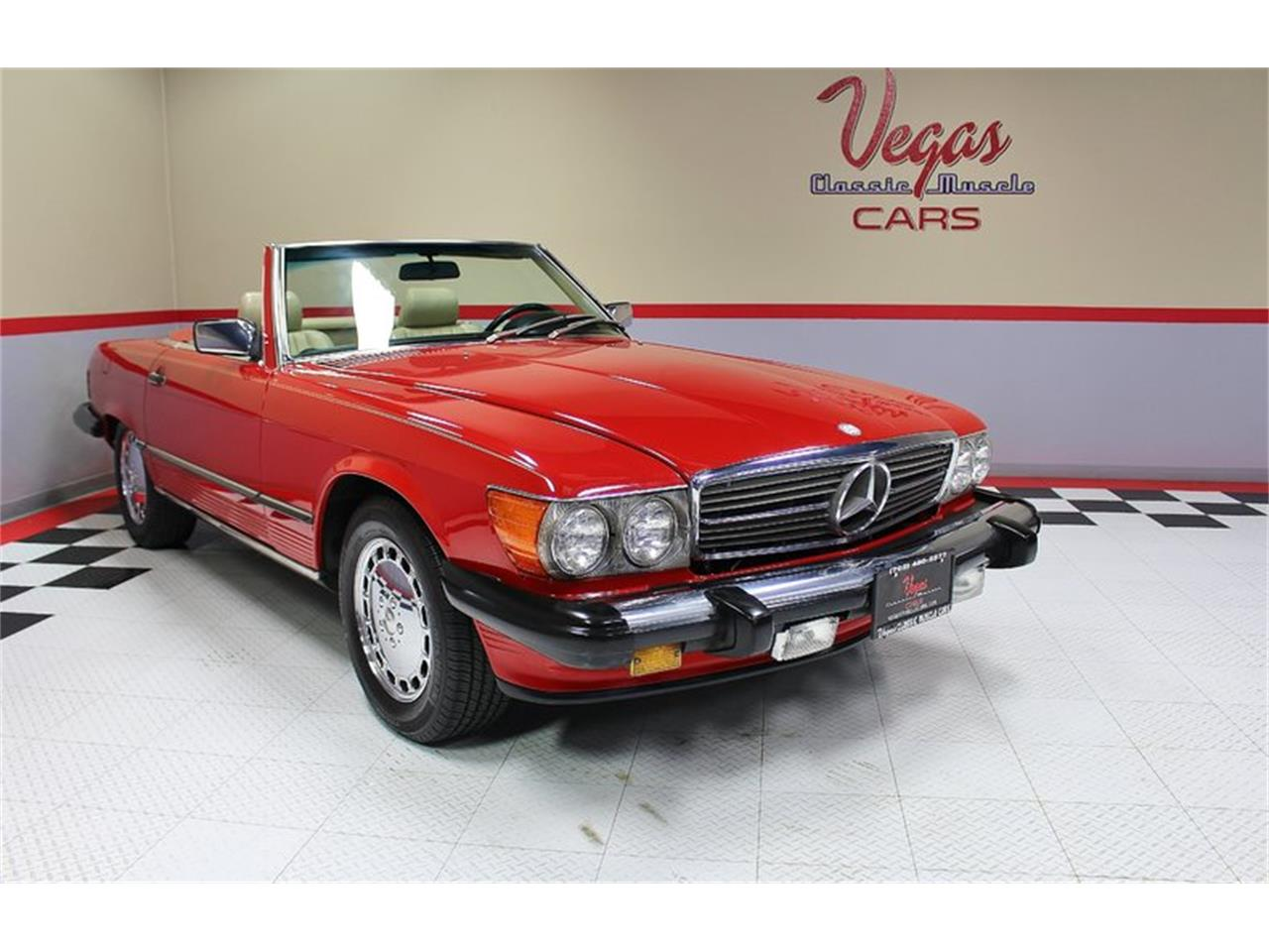 Large Picture of '87 Mercedes-Benz 560SL located in Nevada Offered by Vegas Classic Muscle Cars - KVCP