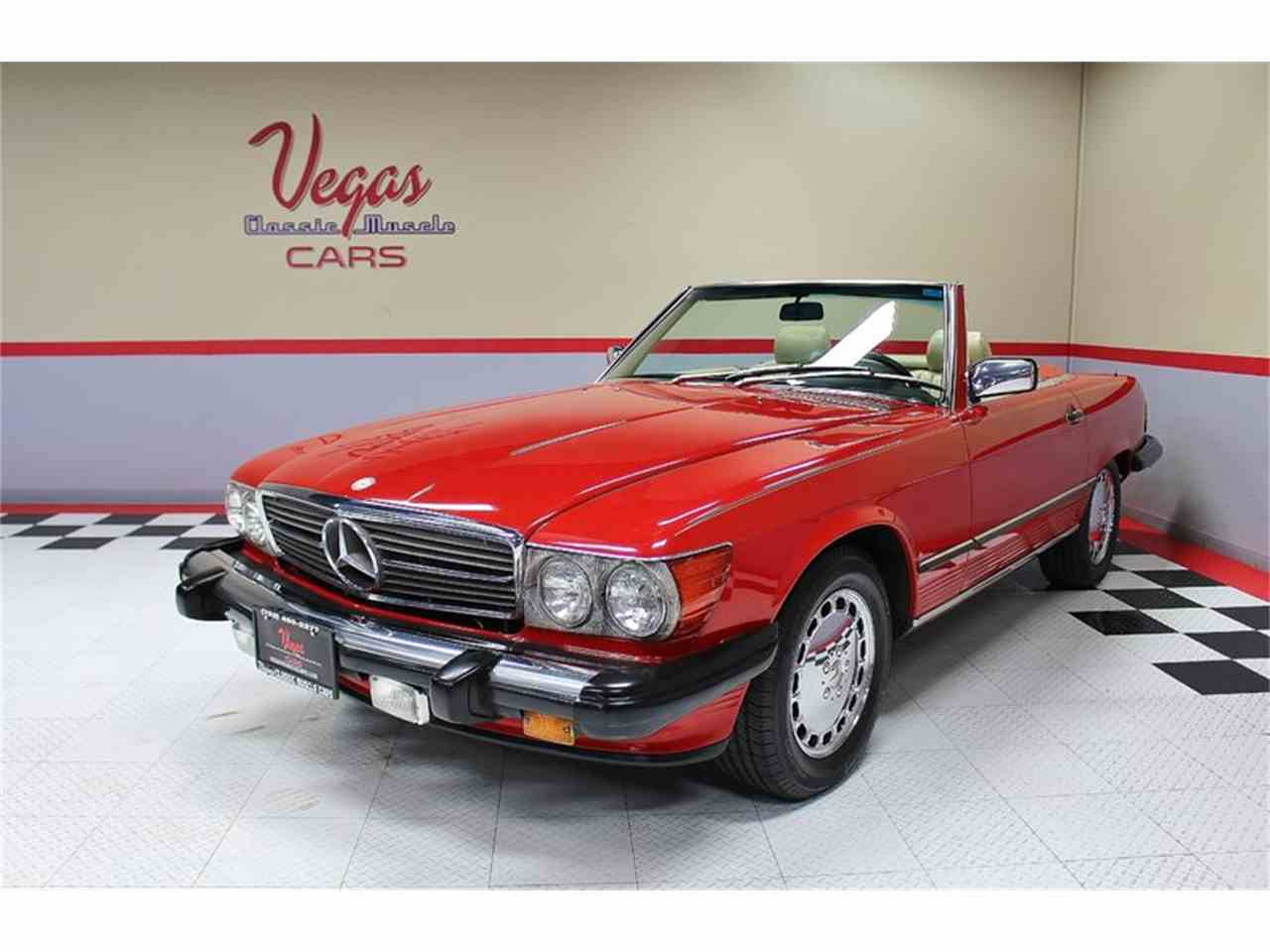Large Picture of '87 560SL Offered by Vegas Classic Muscle Cars - KVCP