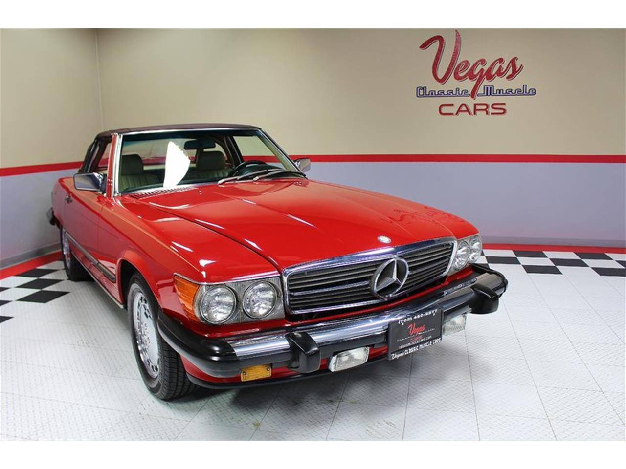 Large Picture of '87 Mercedes-Benz 560SL located in Henderson Nevada Offered by Vegas Classic Muscle Cars - KVCP