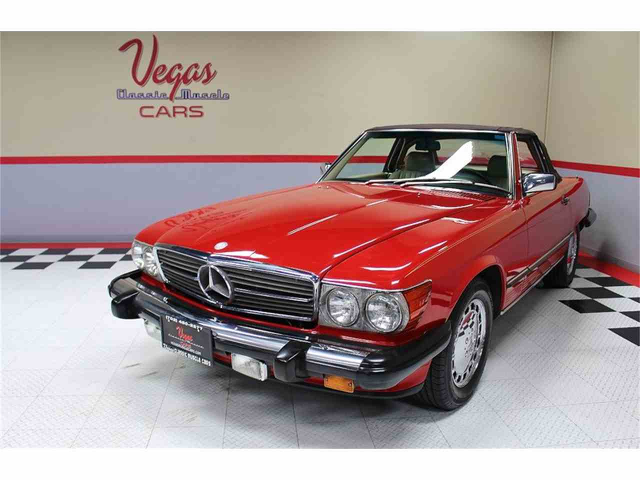 Large Picture of '87 560SL located in Nevada - $14,995.00 Offered by Vegas Classic Muscle Cars - KVCP