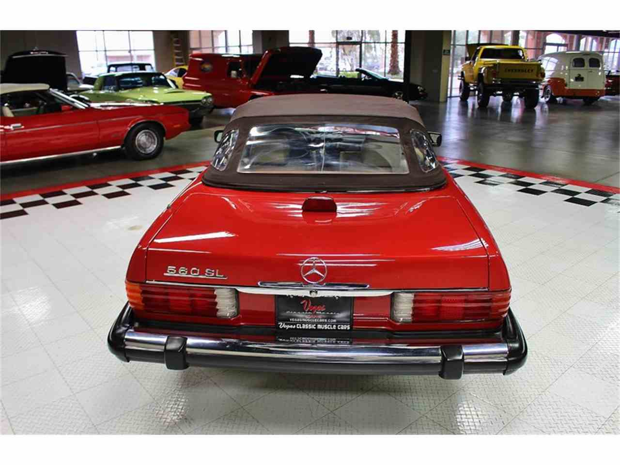 Large Picture of '87 Mercedes-Benz 560SL located in Nevada - $14,995.00 Offered by Vegas Classic Muscle Cars - KVCP