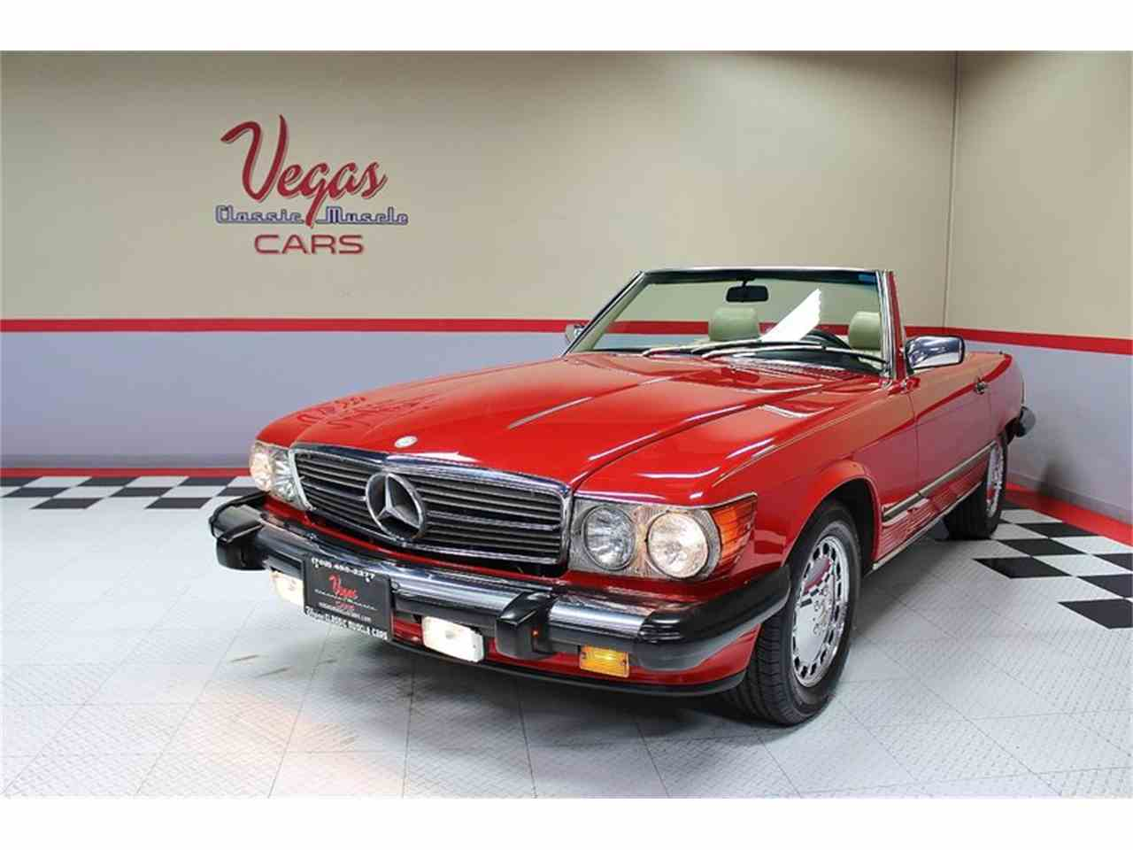 Large Picture of 1987 Mercedes-Benz 560SL Offered by Vegas Classic Muscle Cars - KVCP