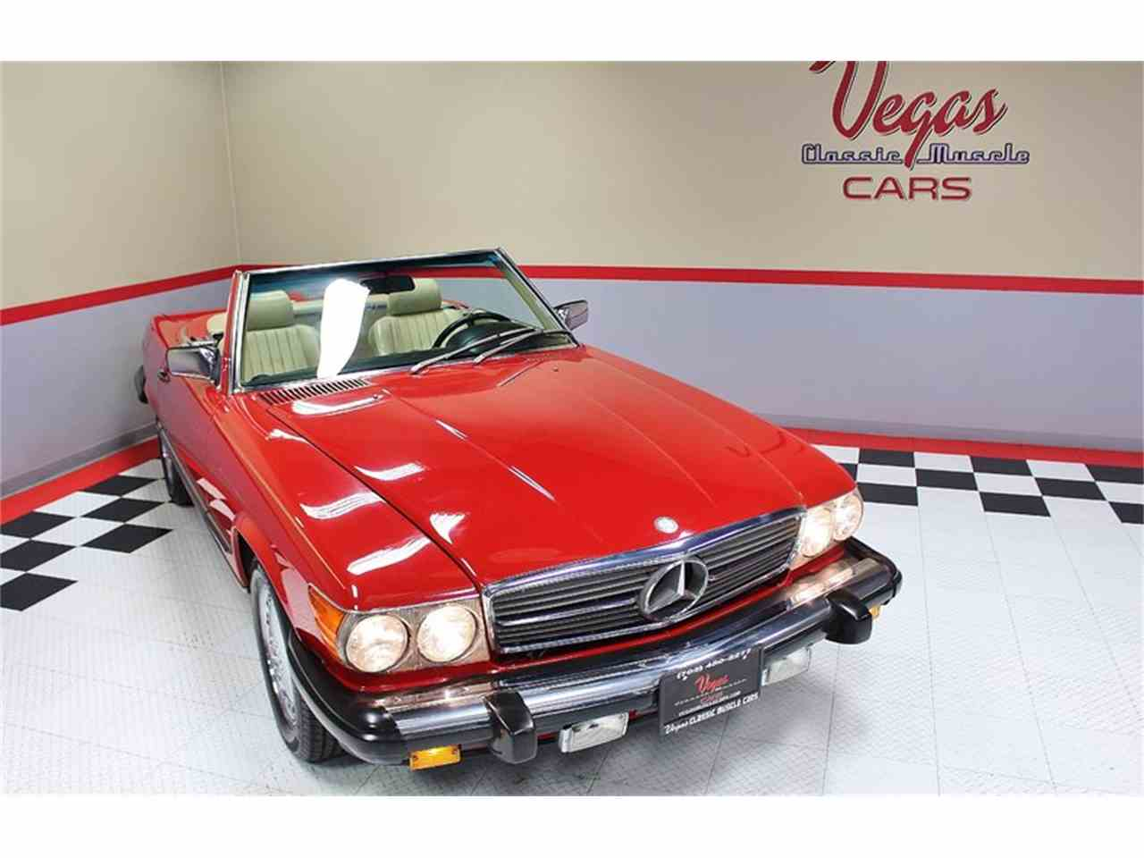 Large Picture of 1987 Mercedes-Benz 560SL located in Henderson Nevada Offered by Vegas Classic Muscle Cars - KVCP