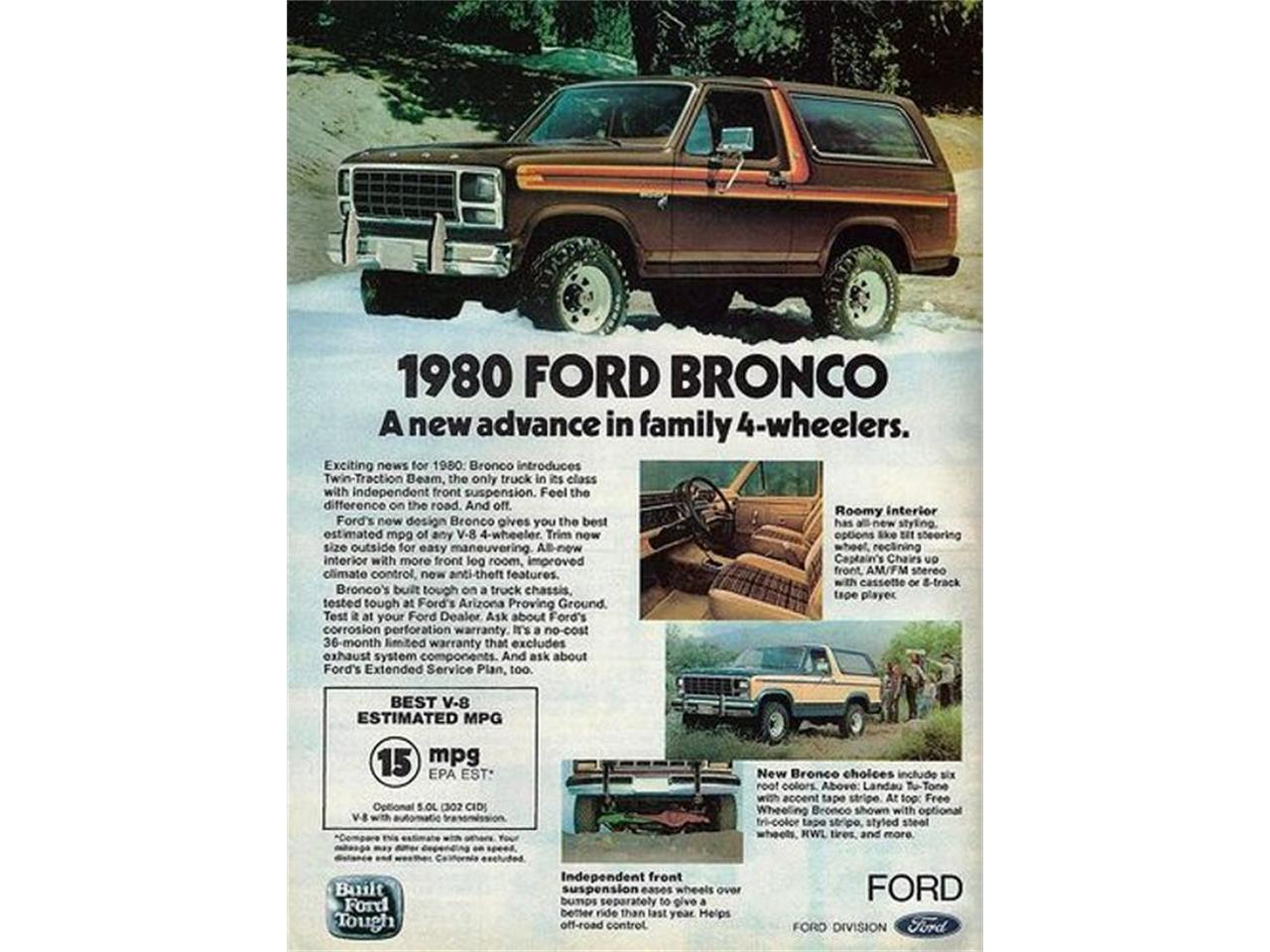 1980 Ford Bronco For Sale Cc 974005 Interior Large Picture Of 80 Kvjp
