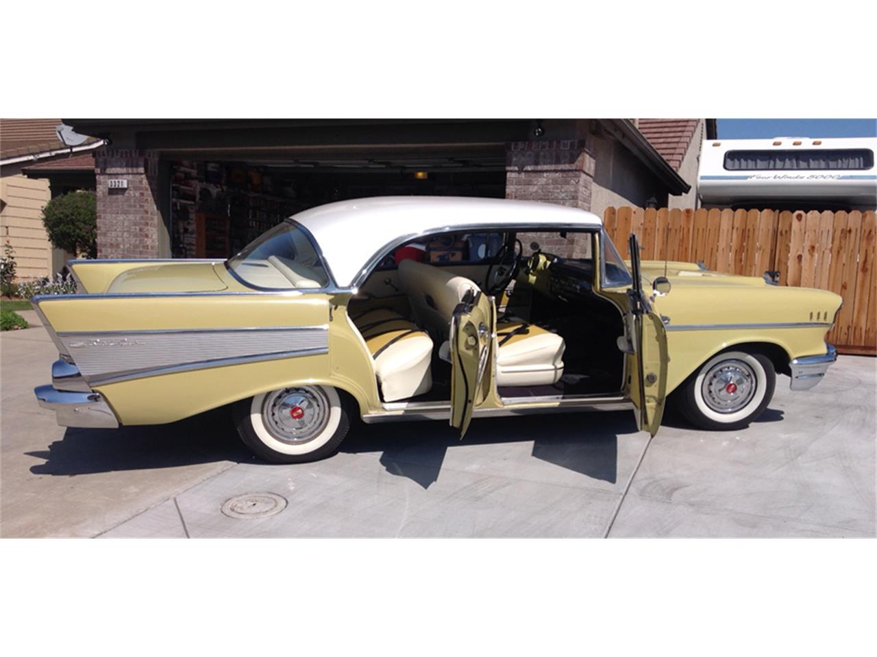 Large Picture of Classic '57 Bel Air located in Modesto California - $23,000.00 Offered by a Private Seller - KVN8