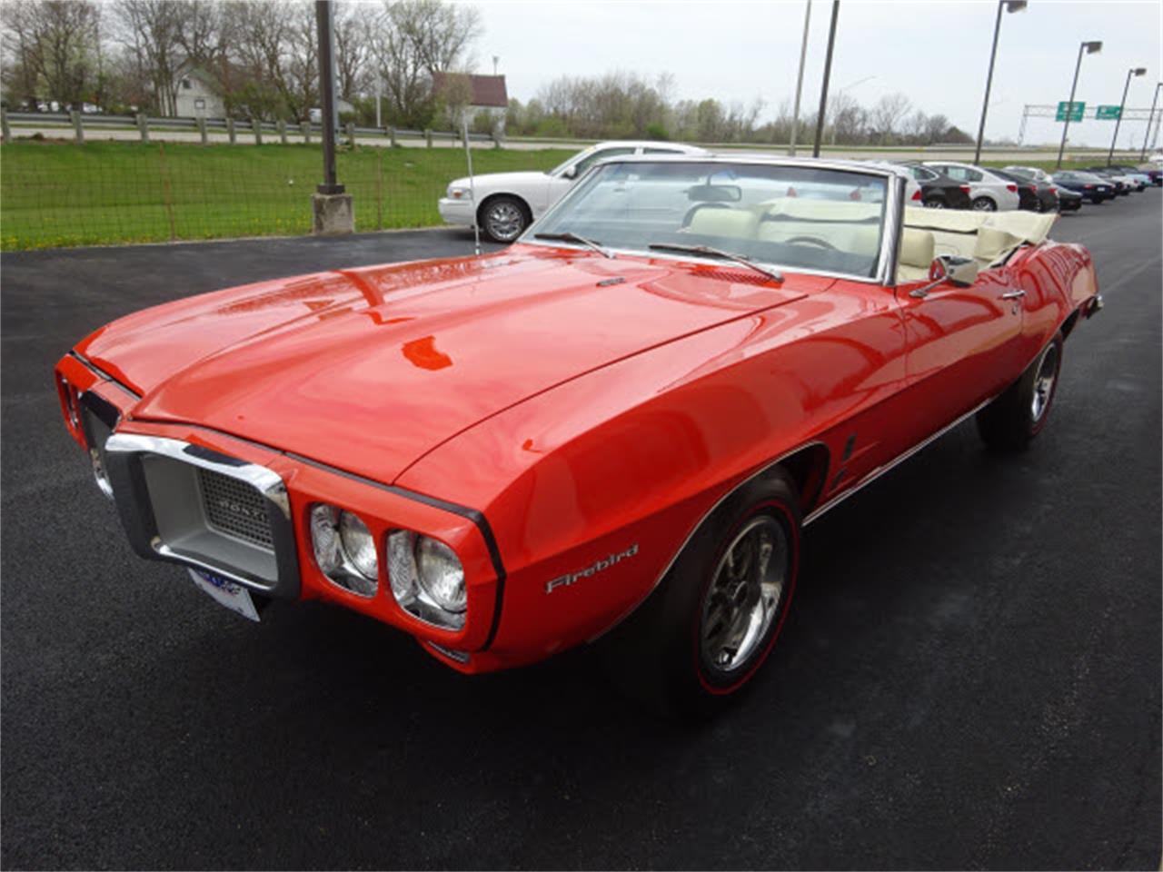 1969 Pontiac Firebird For Sale Classiccars Com Cc 974256