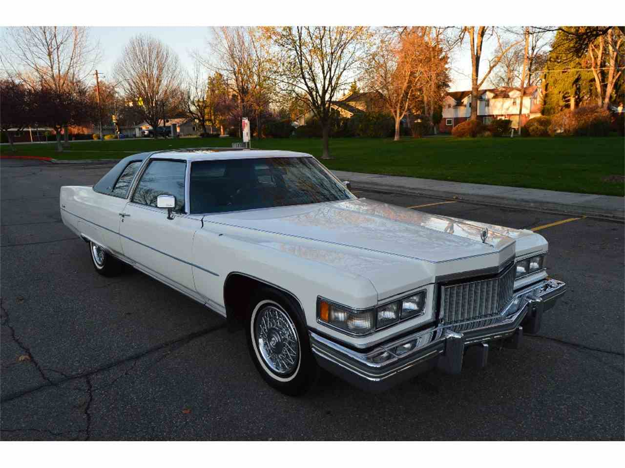 1975 Cadillac Coupe DeVille for Sale | ClicCars.com | CC-975010