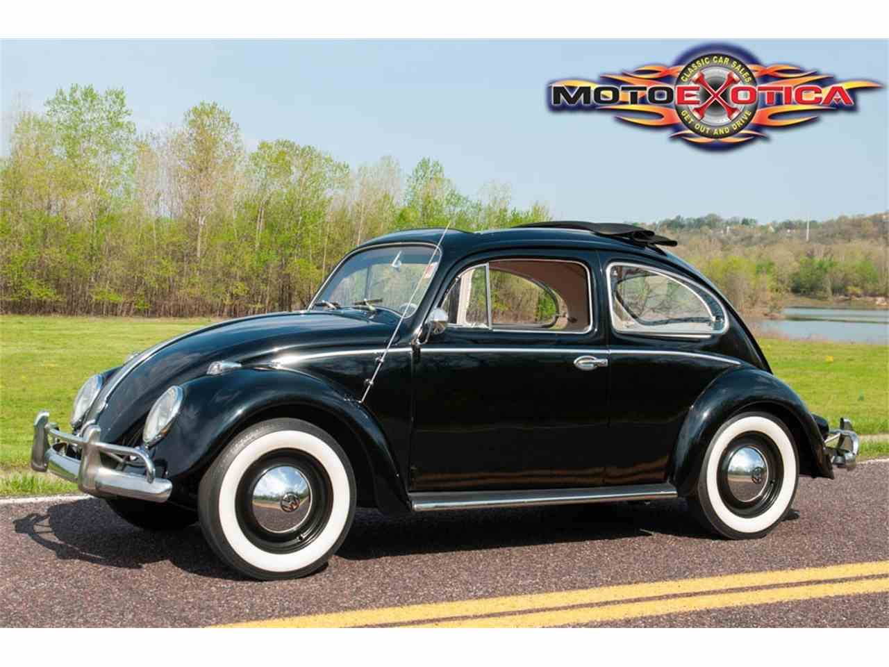 1958 volkswagen beetle ca top for sale cc 975187. Black Bedroom Furniture Sets. Home Design Ideas