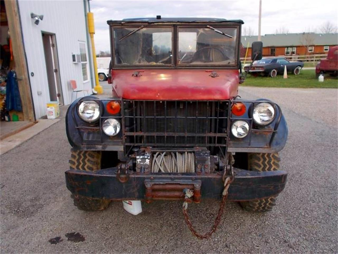 For Sale: 1961 Dodge Power Wagon M37 in Knightstown, Indiana