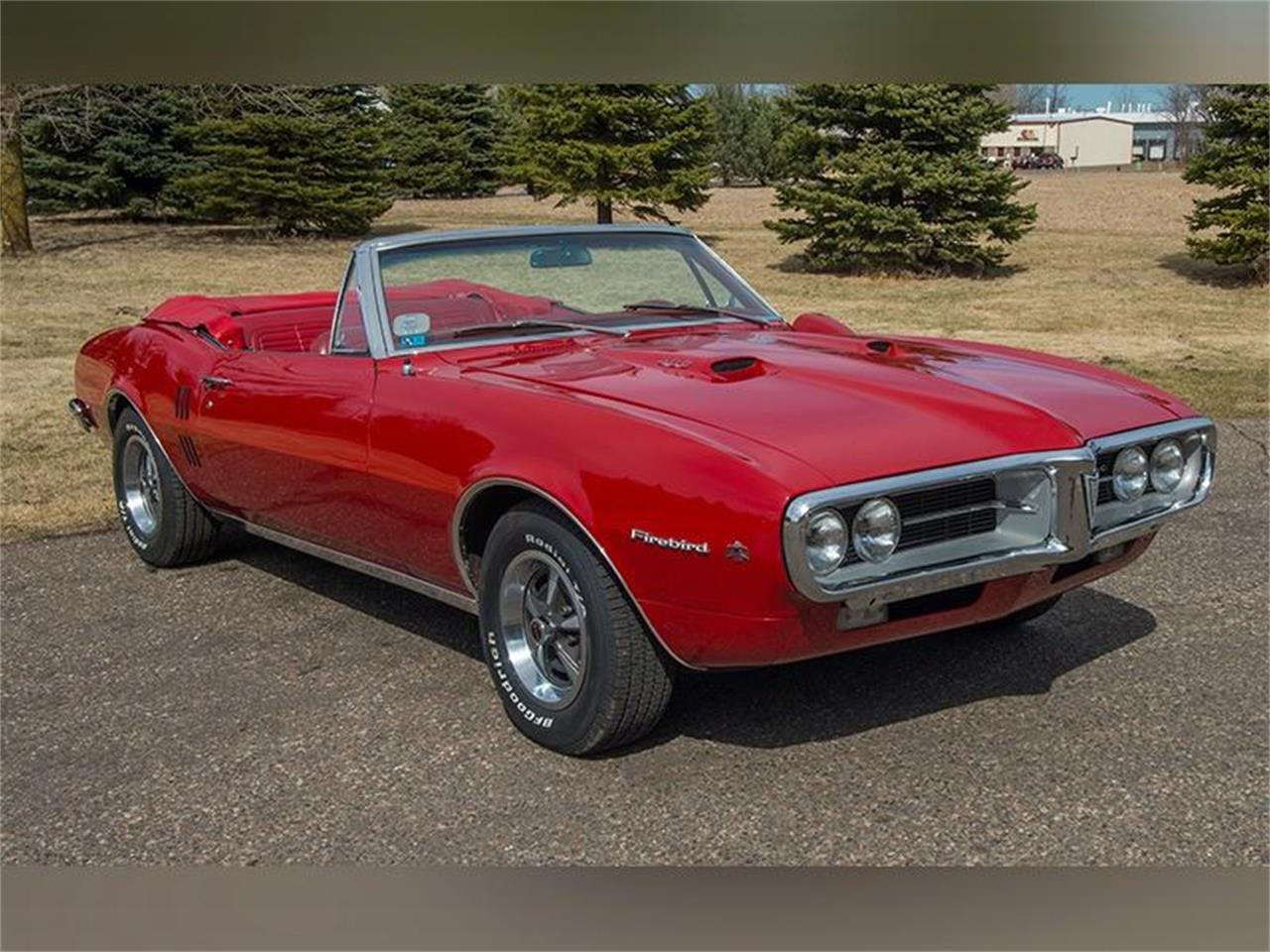 Large Picture Of 1967 Pontiac Firebird 400 Convertible Located In Rogers Minnesota 39 950 00 Offered By