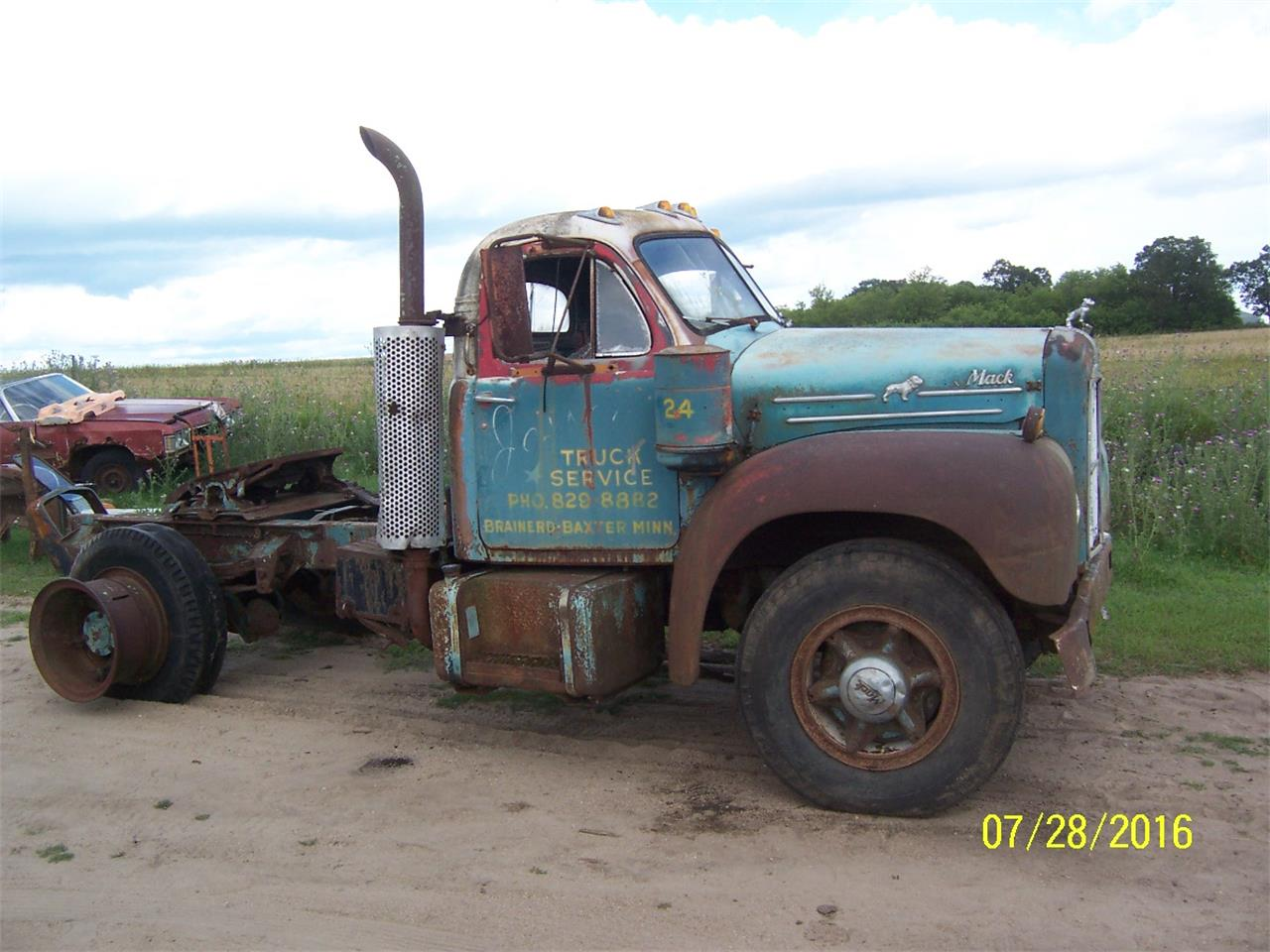 Large Picture of Classic '57 Mack B61 Truck located in Parkers Prairie Minnesota Offered by Dan's Old Cars - KWPG