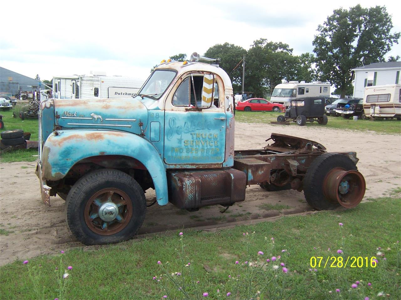 Large Picture of Classic '57 B61 Truck located in Parkers Prairie Minnesota Offered by Dan's Old Cars - KWPG