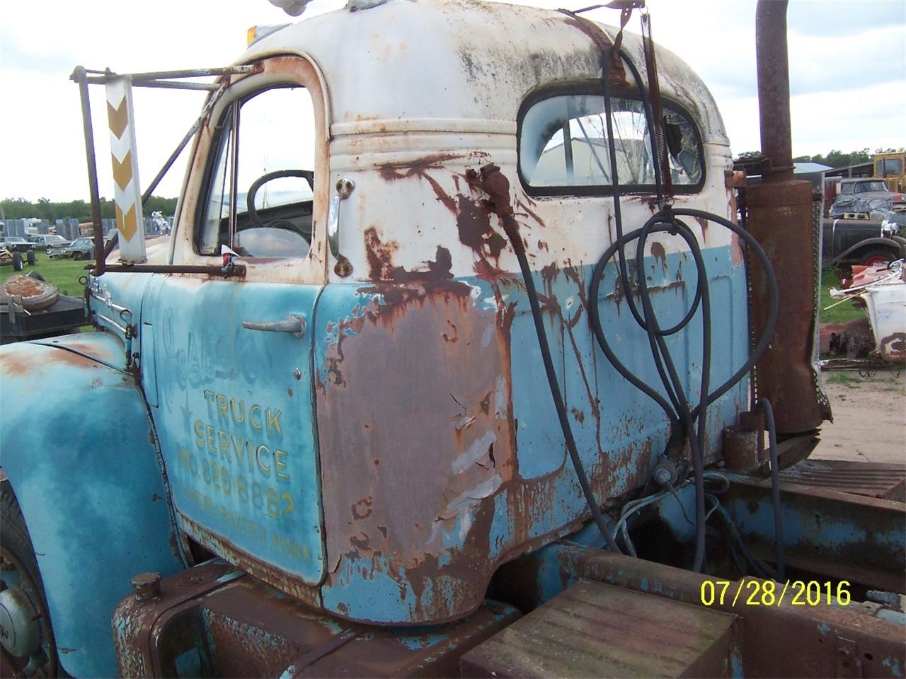 Large Picture of Classic 1957 Mack B61 Truck located in Parkers Prairie Minnesota Offered by Dan's Old Cars - KWPG