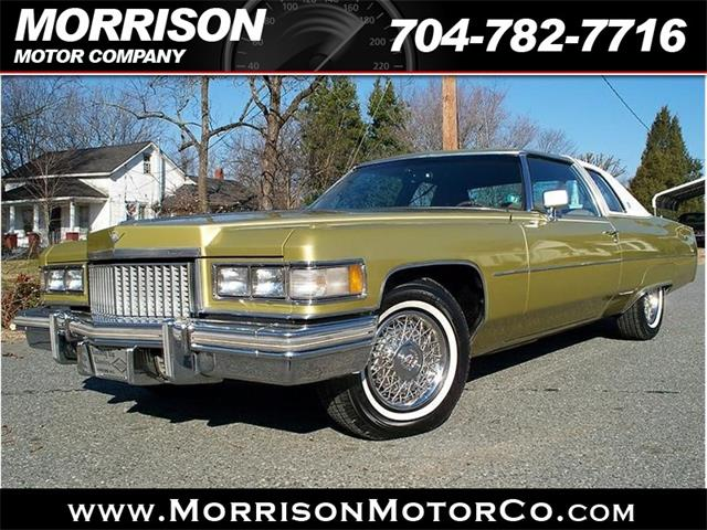 Picture of 1975 Cadillac Calais - $13,900.00 Offered by  - KX24