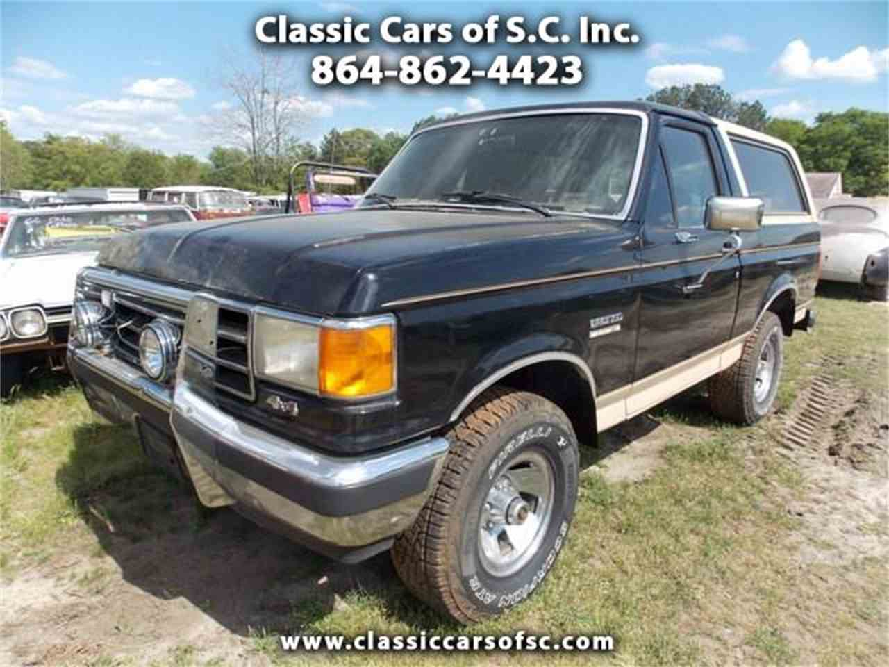 Large Picture of '90 Bronco - KXJP